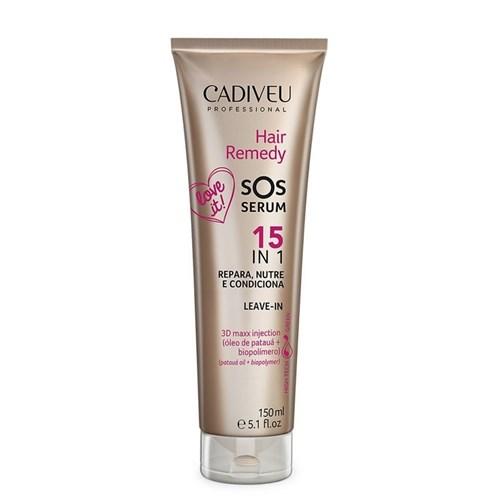 Hair Remedy Cadiveu Leave-in Sos Serum 15 In 1 150ml