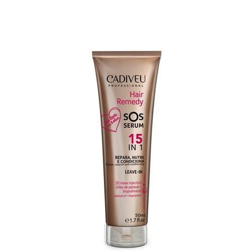 Hair Remedy Cadiveu SOS Serum 15 em 1 Leave-in 50ml