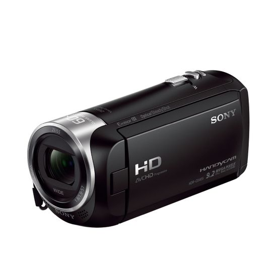 Handycam® CX405 Con Sensor Exmor R® CMOS | HDR-CX405/BCE23