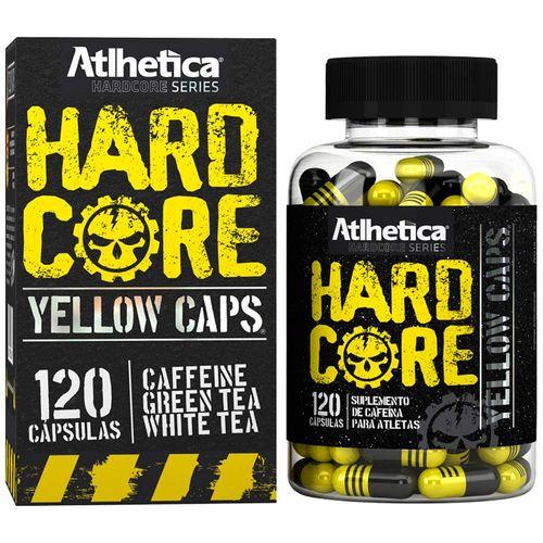 Hardcore Yellow Caps - 120 Cápsulas - Hardcore Series - Atlhetica