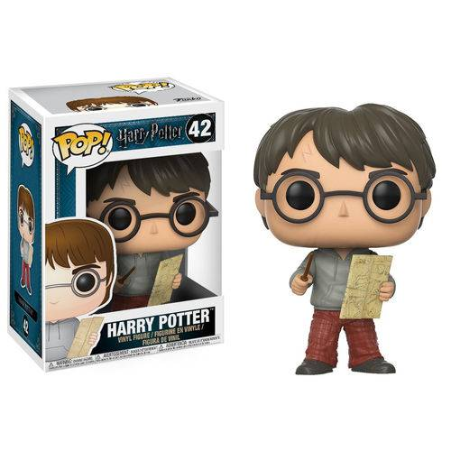 Tudo sobre 'Harry Potter com Mapa do Maroto - Funko Pop'