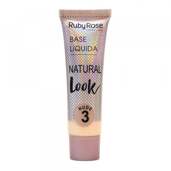 Hb-8051-1 Base Natural Look Cor Nude 3 Ruby Rose
