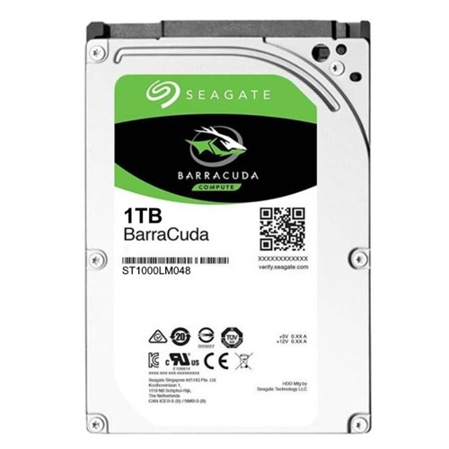Hd 2.5' Sata3 1Tb Barracuda - Seagate
