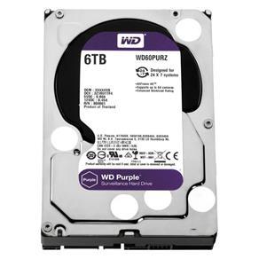 Hd 6 Tb Sata 3 - 6Gb/S - 5400Rpm - 64Mb Cache - Western Digital Purple Surveillance - Wd60purz