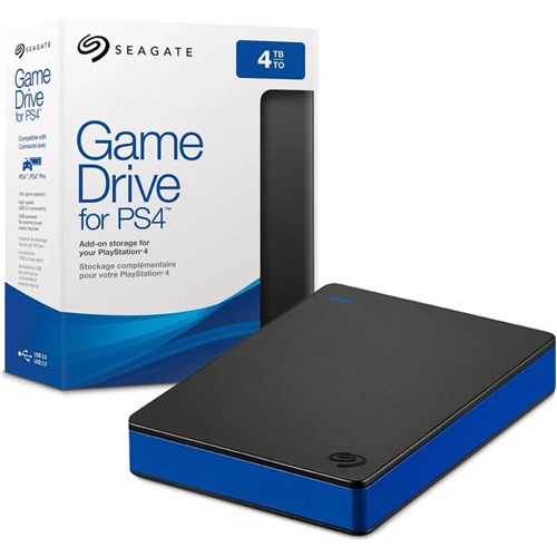 Hd Externo 4Tb 2.5'' Ps4 - Seagate