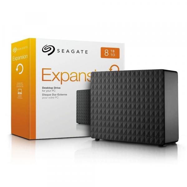 "HD Externo Seagate Expansion 8.0TB 3.5"" USB 3.0"