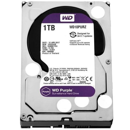 HD Interno 1TB Sata III 64mb Purple WD10PURZ Western Digital