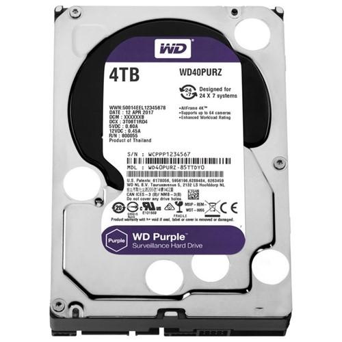 HD Interno 4TB SATA III 64mb Purple WD40PURZ Western Digital