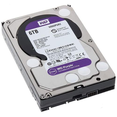 HD Interno 6TB Sata III Purple WD60PURZ Western Digital