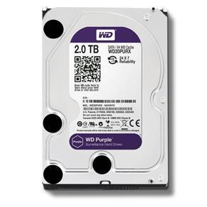 HD Interno 2TB SATA III 64mb Purple WD20PURZ Western Digital