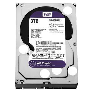 HD Interno 3TB SATA III 64mb Purple WD30PURZ Western Digital
