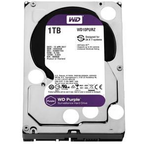 Hd Interno Western Digital Purple 1Tb Sata Iii 7200Rpm - Wd10Purz