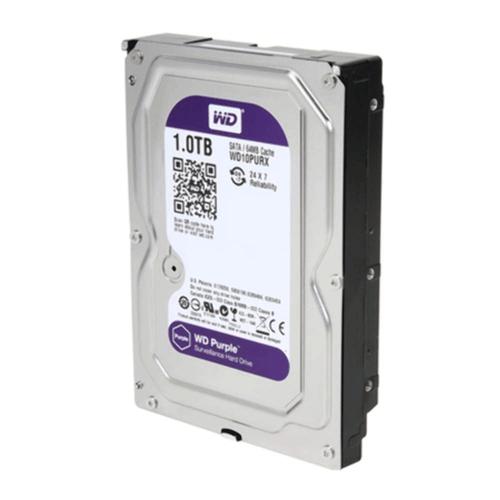 HD PC Interno 1TB Sata3 Purple Surveillance 5400RPM 64MB Cache | WD10PURX 1802