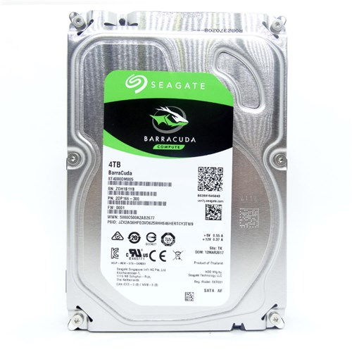 Hd Seagate Barracuda 4Tb 3.5