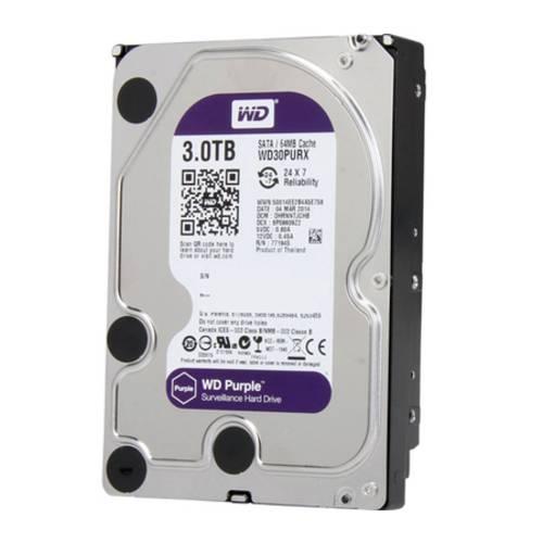 HD Western Digital Purple 3tb - Ideal para Intelbras