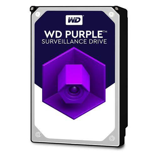 Hdd Interno Wd 1 Tb para Seguranca / Vigilancia / Dvr - Wd10purz Purple