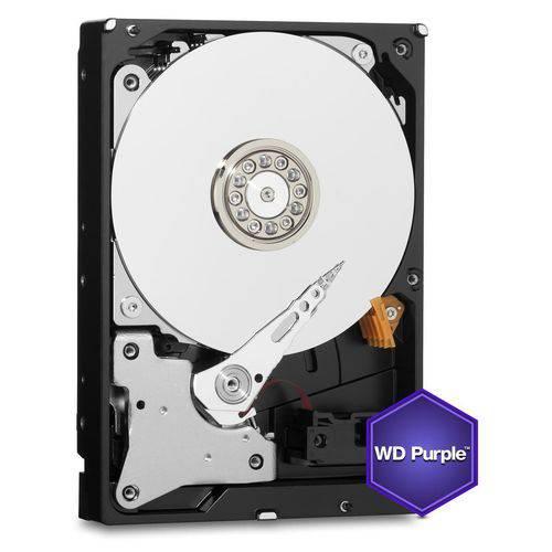 HDD WD *purple* 1 TB para Seguranca / Vigilancia / DVR - WD10PURX