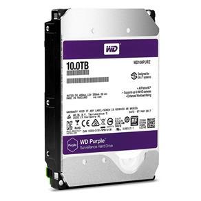HDD WD *purple* 10 TB para Seguranca / Vigilancia / DVR - WD100PURZ