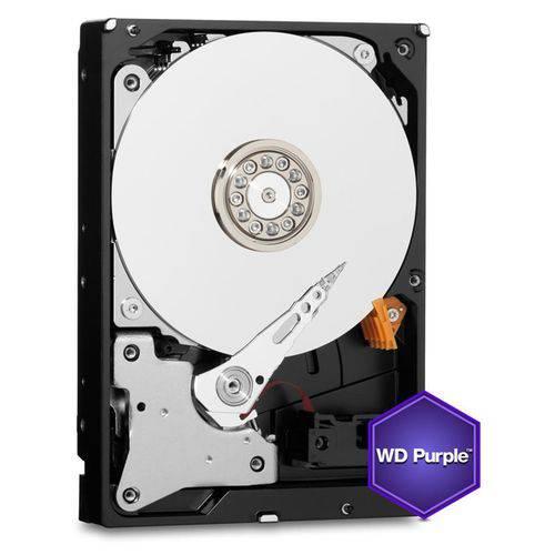HDD WD *purple * 6TB - para SEGURANCA/ Vigilancia / DVR - WD60PURZ
