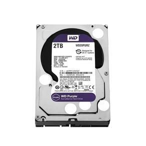 Hdd Wd Purple 2Tb para Segurança Wd20Purz