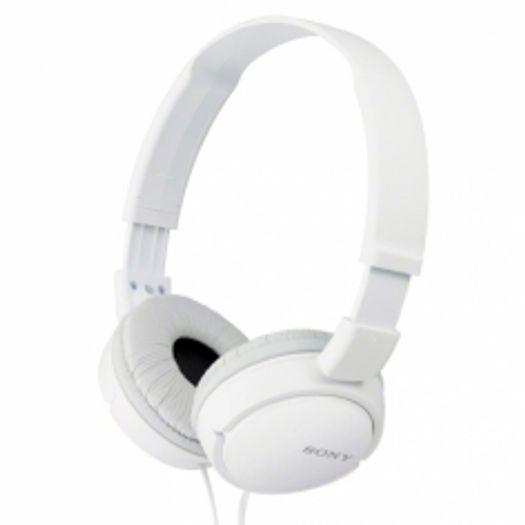 Tudo sobre 'Headphone Branco Dobrável Mdr-Zx110 - Sony'