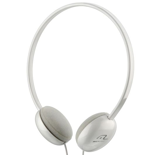 Headphone Multilaser Básico Branco - 064