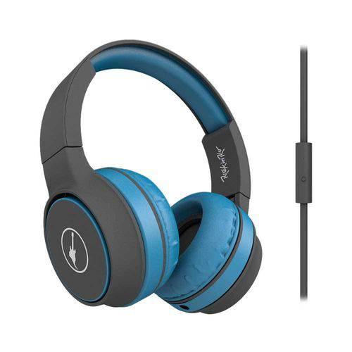 Tudo sobre 'Headphone Rock In Rio - Rock Sunset Azul, Dobrável, Cabo Removível, Microfone, Acab Emborrachado'
