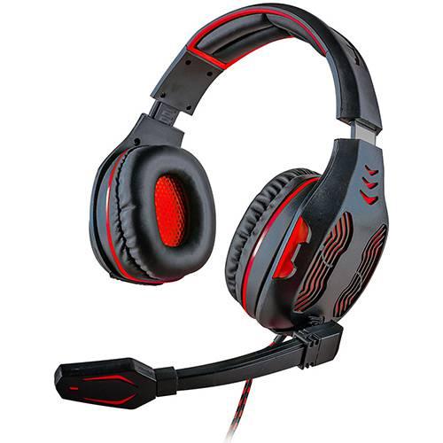 Tudo sobre 'Headset Gamer 5,1 Centauro Preto/Vermelho - MyMax'