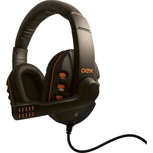 Tudo sobre 'Headset Gamer OEX Action Preto HS-200'