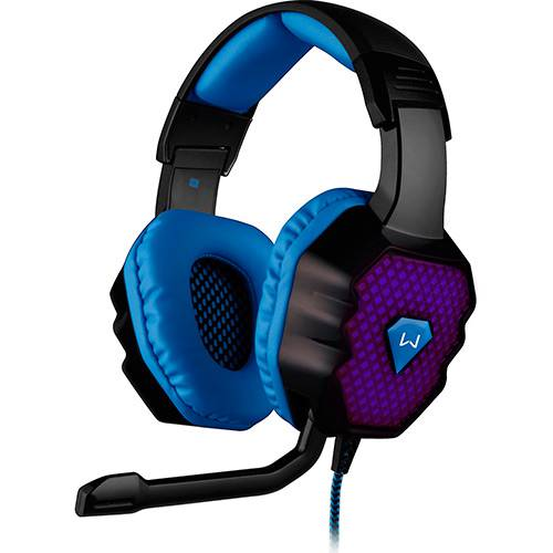 Headset Gamer PH121 com Microfone 3D 7.1 Sound LED - Multilaser