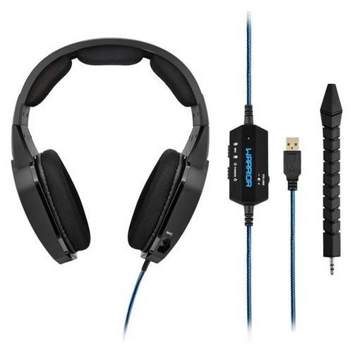 Headset Gamer Warrior Multilaser Azul - Ph179