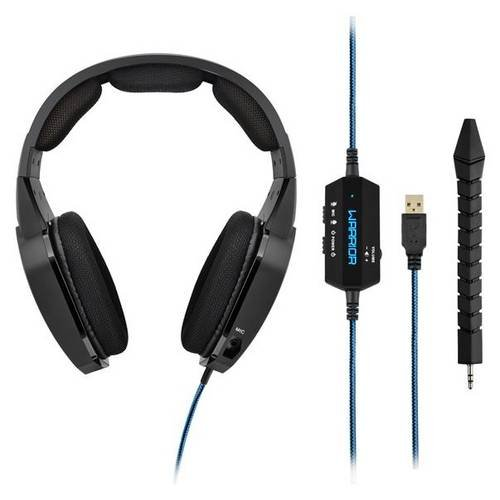 Headset Gamer Warrior Multilaser Azul Ph179