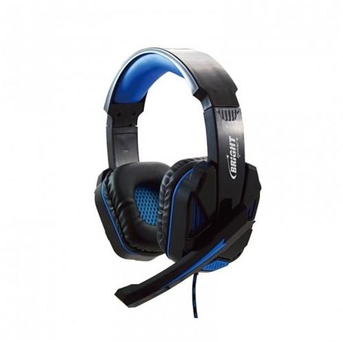 Tudo sobre 'Headset Gaming Azul Bright 0467'