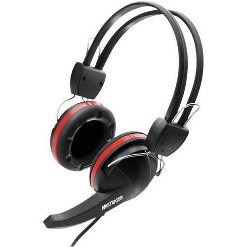 Tudo sobre 'Headset Multilaser Gamer Ph042 Preto/Vermelho'