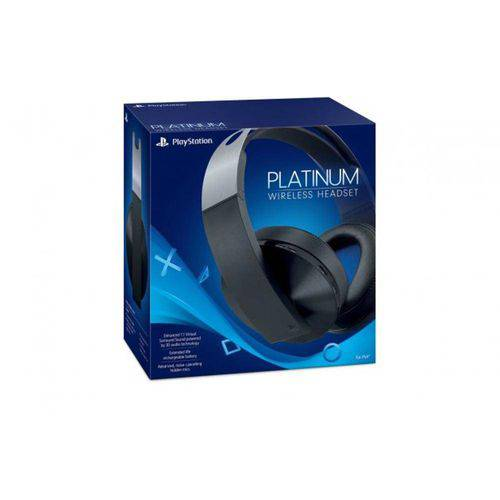 Tudo sobre 'Headset Sony Platinum 7.1 Wireless - Ps4 e Ps4 Vr'