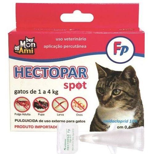 Tudo sobre 'Hectopar Fp Antipulgas para Gatos de 1 a 4 Kg'
