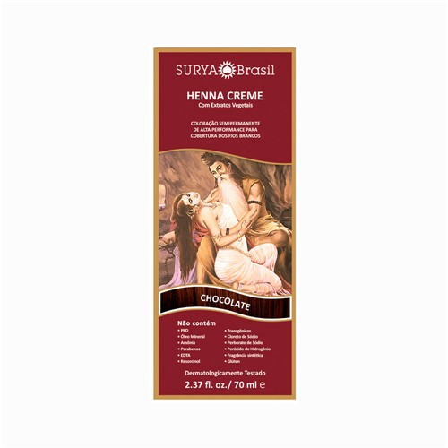 Henna Surya Creme Chocolate