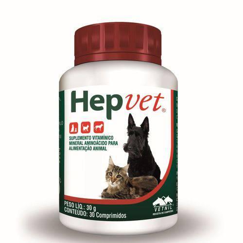 Tudo sobre 'Hepvet 30 Comprimidos'