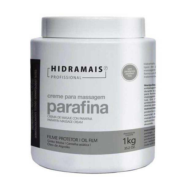Hidramais Parafina Creme P/ Massagem 1kg