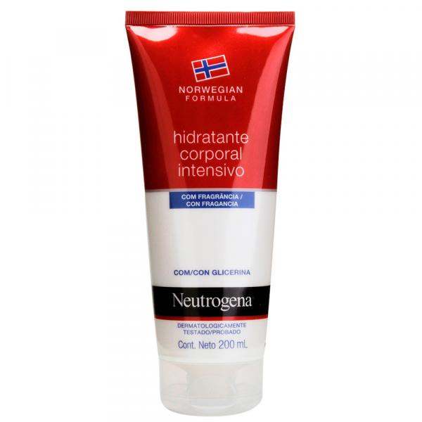 Hidratante Corporal Intensivo Norwegian Neutrogena com Fragrância 200ml - Neutrogena Norwegian