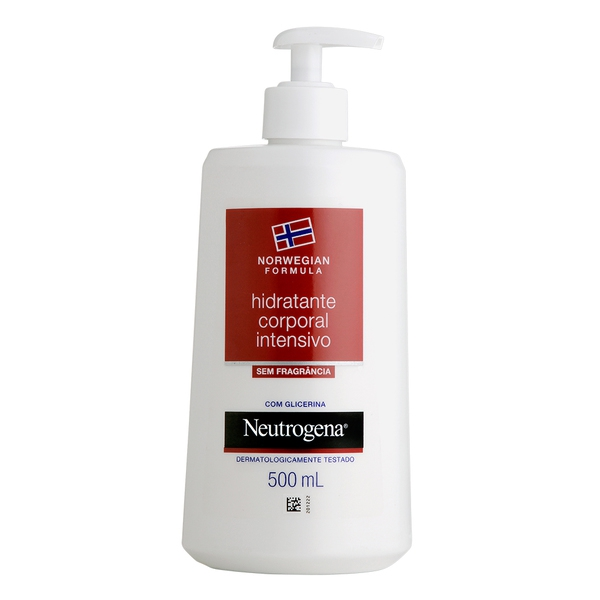 Hidratante Corporal Neutrogena Norwegian Body S/ Fragrância 500ml