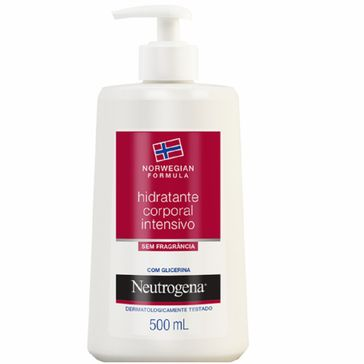 Hidratante Corporal Neutrogena Norwegian Body Sem Fragrância 500ml