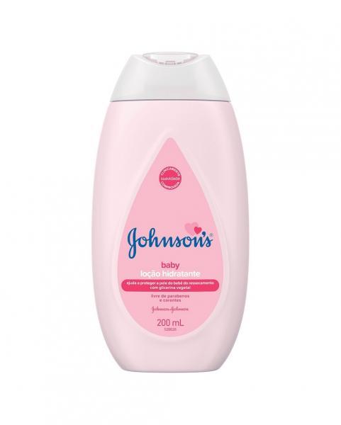 Hidratante Johnson Johnson Baby Rosa - 200ml - Johnson's