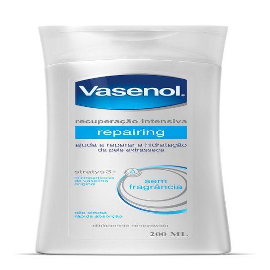 Hidratante Vasenol Recuperação Intensiva Reparador 200ml