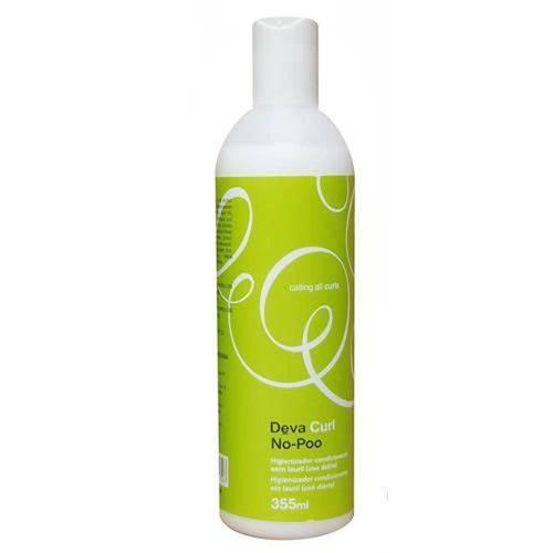 Higienizador Condicionante Sem Espuma No-Poo Deva Curl - Condicionador Hidratante 355ml