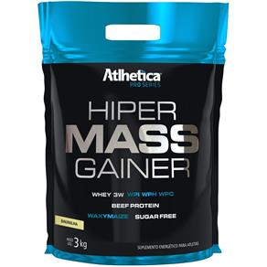 Hiper Mass Gainer (3000g) Refil - Atlhetica Nutrition - Baunilha