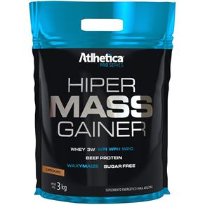 Hiper Mass Gainer (3000g) Refil - Atlhetica Nutrition - Chocolate