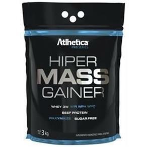 Hiper Mass Gainer - 3000gr - Atlhetica Nutrition. - Baunilha - 3 Kg