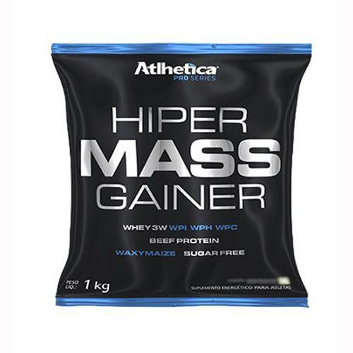 Hiper Mass Gainer - 1000g Baunilha - Atlhetica - Atlhetica Nutrition