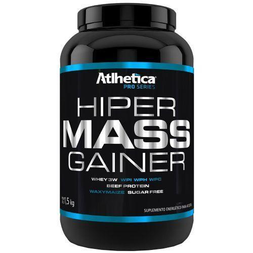 Hiper Mass Gainer - 1500g Morango - Atlhetica - Atlhetica Nutrition